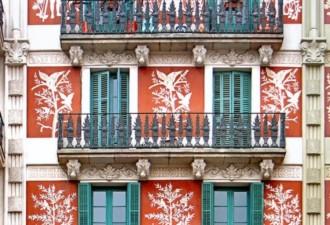Балкончики Барселоны, которым хочется спеть серенаду (10 фото)
