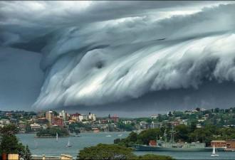 Жители Австралии стали свидетелями необыкновенного зрелища (5 фото)