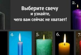 Положитесь на интуицию и выберите свечу