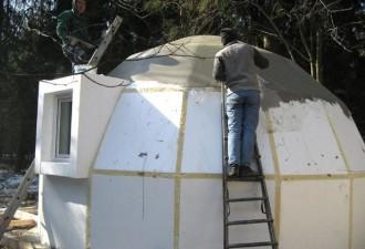 Японцы начали строить дома из пенопласта. Когда заходишь внутрь, теряешь дар речи!