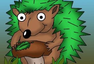 Смешная история, как у мужика по участку бегали зелёные ежики доводя местных алкашей до инфаркта…