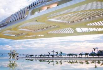 «Плавающий» Музей завтрашнего дня от Сантьяго Калатравы в Рио-де-Жанейро, Бразилия (9 фото)