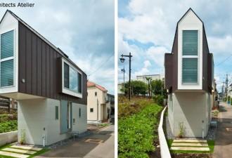 Крошечный снаружи — гигантский внутри: Вот как строят дома в Японии! (10 фото)