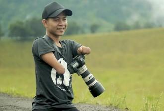 Этот талантливый фотограф делает удивительные снимки, несмотря на то, что родился без рук и ног (20 фото)
