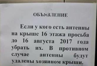 Подборка прикольных надписей и объявлений (12 фото)
