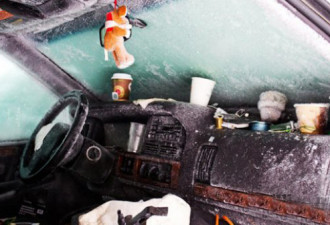 Швед выжил после 2 месяцев, проведенных в заваленной снегом машине (5 фото)