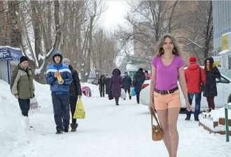 Тольяттинская «снегурочка» (3 фото)