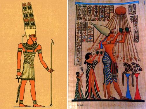 Рис. 2. Бог Амон