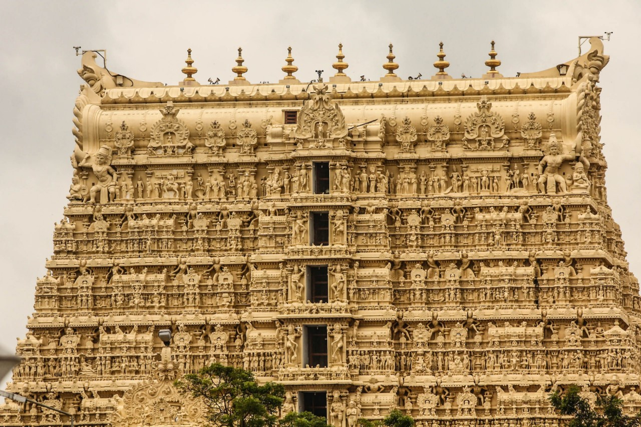 Shri Padmanabhaswamy Temple in Trivendrum
