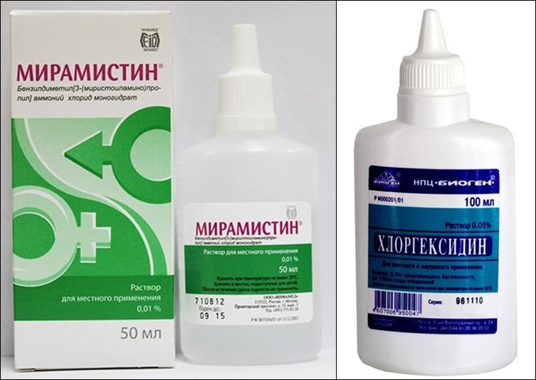 мирамистин и хлоргексидин для защиты от ЗППП