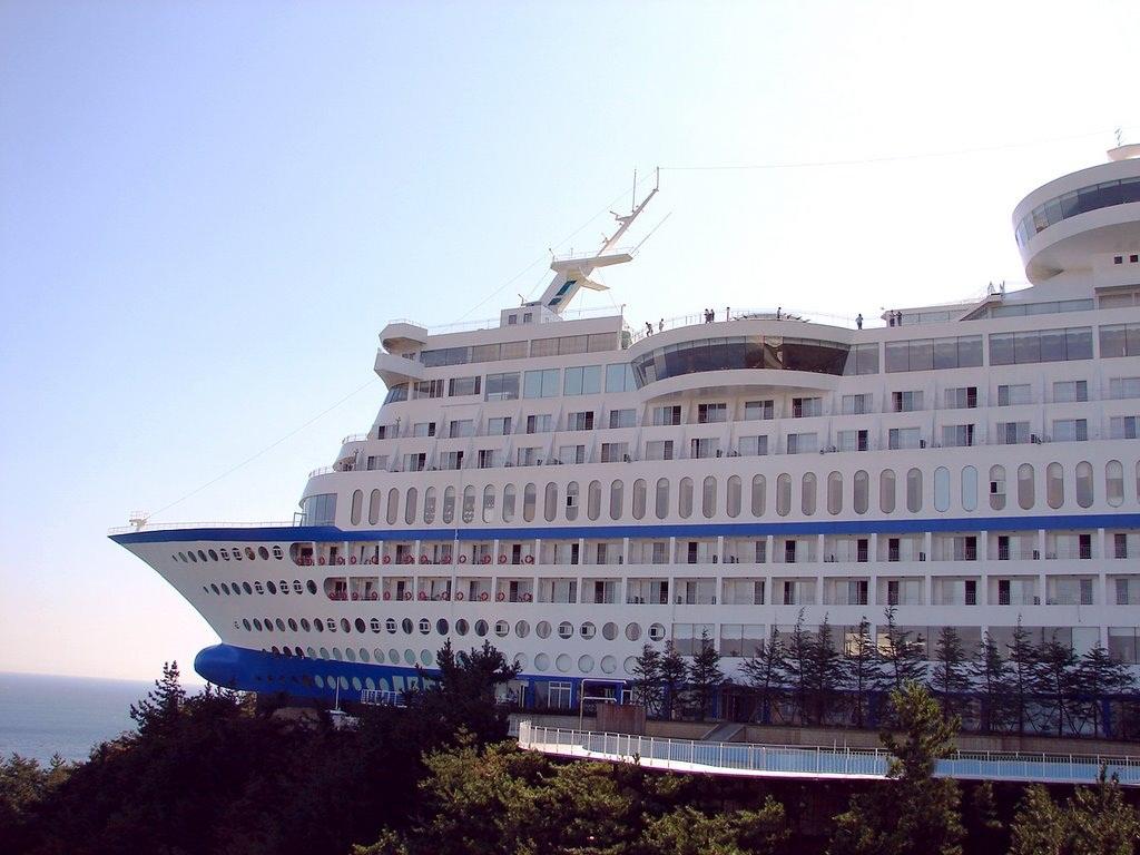 Sun Cruise Resort in Jeongdongjin