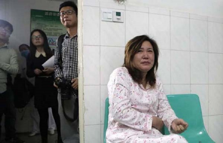 """PICTURED: Grandma Lu Yuanxiu, 57 A Chinese mum who nursed her dying son for two years even though she was seriously ill herself has been cured after doctors used the boy's kidney when he died to save her life. The tragic story started when Chen Xiaotian from Jinzhou city in Hubei province in central China was diagnosed as having a malignant brain tumour aged just five. He was treated and given an operation and for a few months it seemed that everything was well, but then the tumour returned with a vengeance and doctors told his parents there was little chance he would survive. In addition his mother Zhou Lu, 34, had been diagnosed as suffering from kidney failure that left her permanently ill and in need of dialysis treatment. Despite her illness however she continued to care for her son, taking him for regular treatment at the hospital as he gradually worsened. Eventually he became blind and shortly before he died had become bedridden and virtually paralysed, with his mother and grandmother having to do everything to care for him. Grandma Lu Yuanxiu, 57, said: """"The doctors approached me rather than his mother because of the sensitive nature of the issue. They told me that my grandson not survive but his kidneys could help his mother and also save to other lives as well. """"I discussed it with Zhou and she refused point-blank, she absolutely didn't want to hear any talk of that happening."""" But the Gran had enlisted the help of her grandson who had told his mother: """"I want to save your life."""" In tears, his mother had agreed to the doctor's proposal saying that what changed her mind was the thought that if her son was to die, part of him would live on in her. Doctors confirmed that the tissue match was perfect and when he died on April 2, he was quickly moved to the operating theatre where his kidneys and liver were removed donated to his mother and two other people. The second kidney went to a 21-year-old girl and his liver to a 27-year-old man. Hospital spok"""