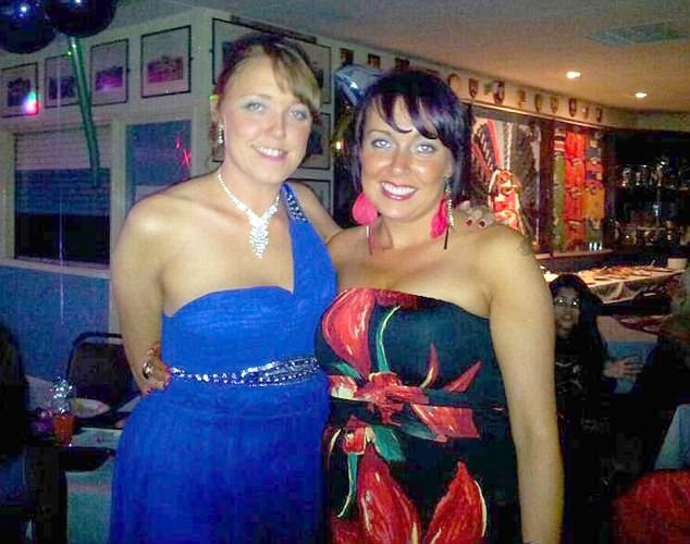 KARINA (RIGHT) WITH SAM (LEFT) / re: Sam Menzies who has stepped in to raise her sister's children. Her sibling Karina Menzies died in 2012 when struck by a van in Cardiff aged 31 and left behind three daughters Sophie, Ellie and Tiana / Source: Lucy Laing