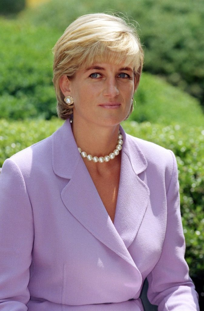 Diana, The Princess Of Wales Visits Washington, Usa.Anti-Landmines Speech At The Red Cross Headquarters . (Photo by Mark Cuthbert/UK Press via Getty Images)