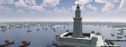 Рис. 7. Александрийский маяк