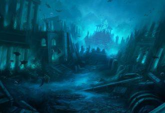 Где находится затонувшая Атлантида: поиски затерянного острова