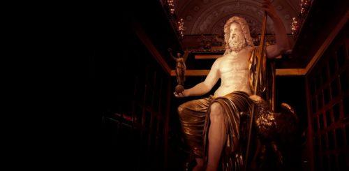 Рис. 3. Статуя Зевса в Олимпии
