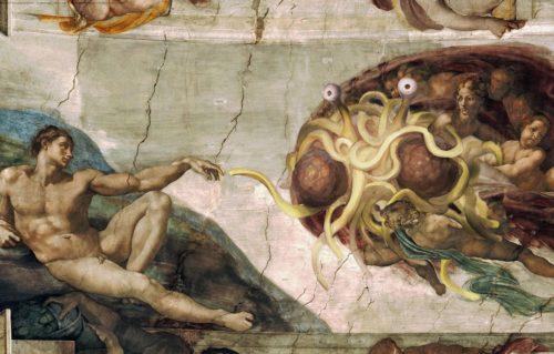Рисунок 2. Сикстинская капелла в религии ЛММ