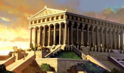 Рис. 4. Храм Артемиды в Эфесе