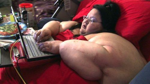 Рисунок 5. Катрина Рэйфорд в максимальном весе 454 кг.