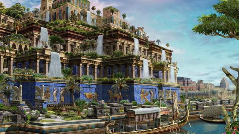 Чудо, созданное руками человека: висячие сады Семирамиды
