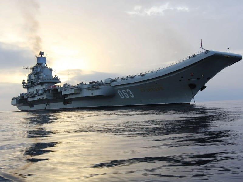 Непростая судьба первого российского авианосца «Адмирал Кузнецов»