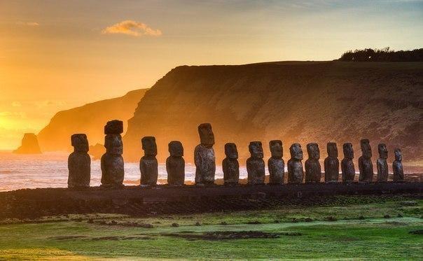 История происхождения статуй Моаи на острове Пасхи