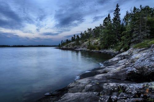 Рис. 1: Озеро Верхнее, Великие Озера