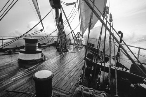 Рис.1: Палуба корабля