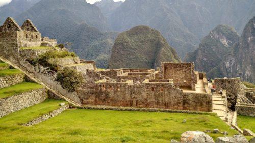 Рис.1: Террасы Мачу-Пикчу