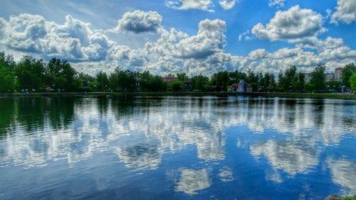 Рисунок 1. Белое озеро