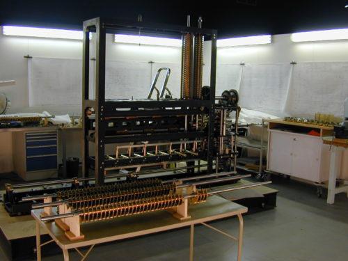 Рис.1 Малая разностная машина Бэббиджа