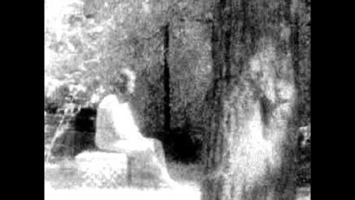 Рисунок 20. Призрак на Чикагском кладбище