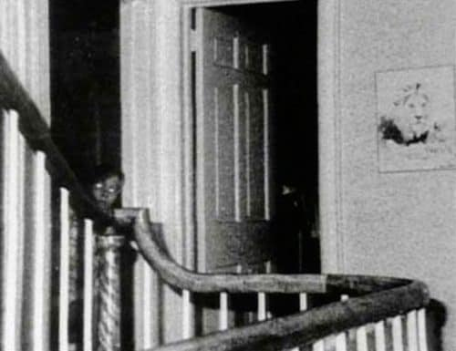 Рисунок 25. Призрак из дома в Амитивилле