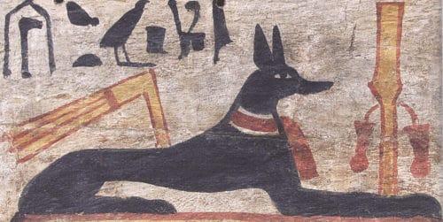 Рис. 3. Анубис в облике собаки