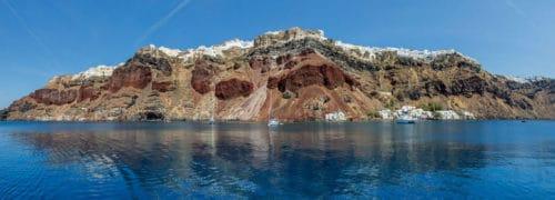 Рисунок 3. Остров Санторини.