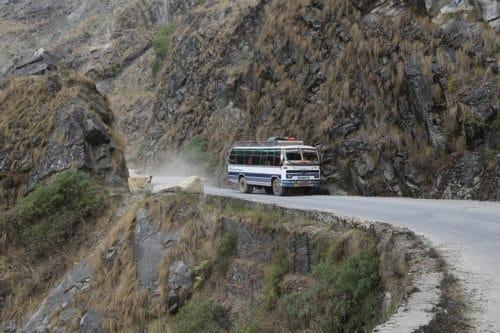 Рисунок 3. Гималайская дорога, Непал.