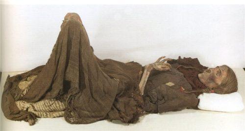 Рисунок 3. Одна из найденных мумий