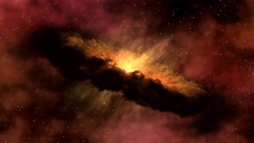 Рис.2: Газопылевое облако