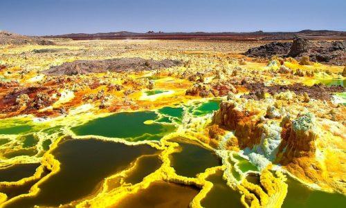 Рисунок 4. Пустыня Данакиль.