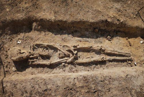 Рисунок 4. Исследование захоронений