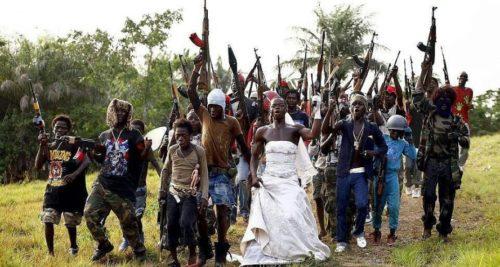 Рис. 4 Африканская свадьба