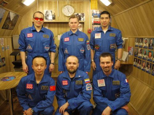 Рис.4 Участники проекта «Марс-500»