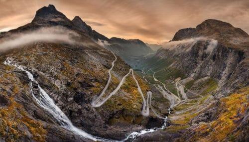 Рисунок 5. Тропа троллей, Норвегия.