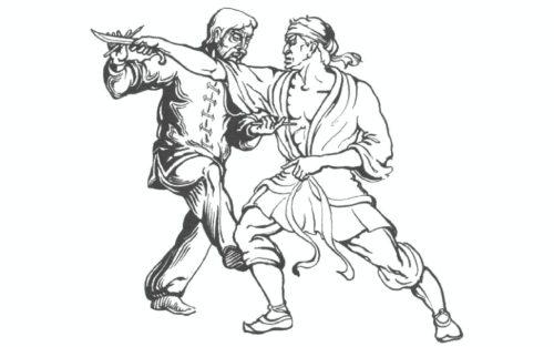 Рисунок 5. Удар отсроченной смерти