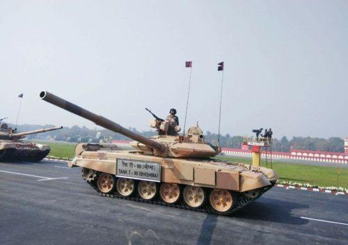Рисунок 5. Русский Т-90 в рядах вооружённых сил Индии