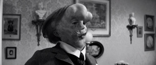 Рисунок 5. Кадры из фильма «Человек-слон», 1980 г.