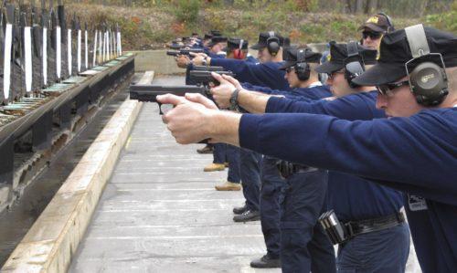 Рисунок 6. Полицейский полигон.