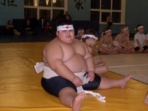 Рисунок 1. Толстый сумоист Джамбулат Хатохов