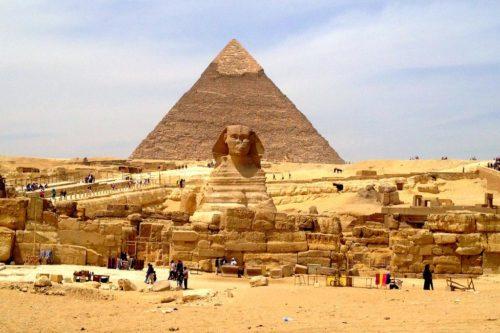 Рис. 1. Пирамида Хеопса
